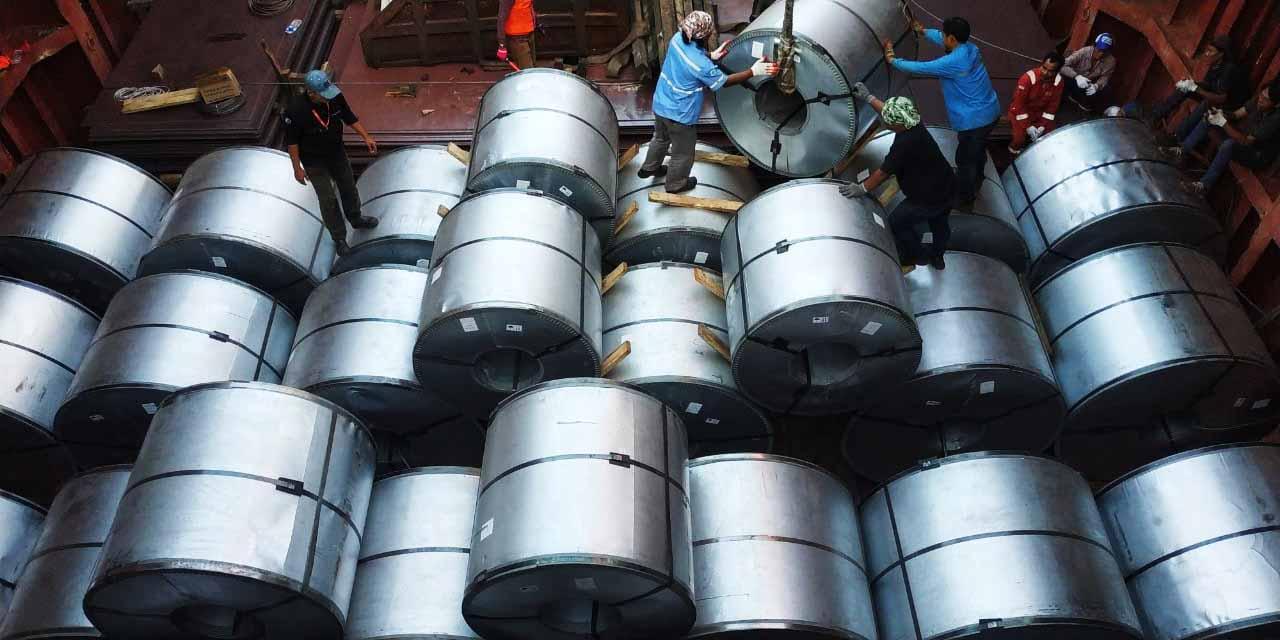 Export Steel Coil dan Steel Plate to Port Klang Malaysia